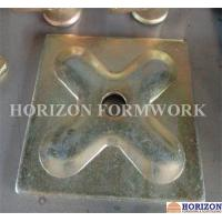 Square Pressed Waler Plate 120x120x6mm Conjunction Galvanized Finishing Manufactures