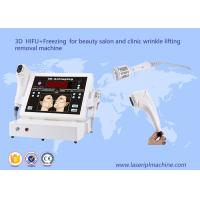 High intensitive focused ultrasound wrinkle remove 3d hifu ice freezing beauty machine Manufactures