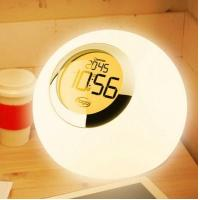 China 7 Color Changing Light Alarm Clock with Nature Sound on sale