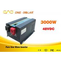Off Grid Single UPS  Solar Power Inverter For Home 3000 Watt Pure Sine Wave Inverter Manufactures