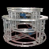 Aluminum Mobile Rotating Stage Platform Hydraulic Revolving Stage For Wedding Manufactures