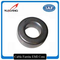 Surface Mount Cable Ferrite Core , Ferrite Ring Core 25.4mm Outer Diameter Manufactures