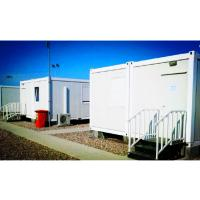 Red Floor Prefabricated Commercial Buildings Multifarious Polychrome For Travel Manufactures