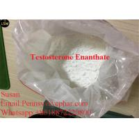 Quality Bodybuilding Steroids Testosterone Enanthate Burning Fat and Gaining Strength White Powder  99% Purity for sale