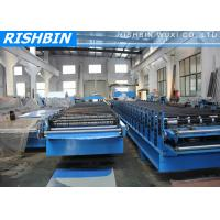 PBR / PBU Aluminium Roof Panel Roll Forming Machine 5.5 KW, Roll Forming Equipment Manufactures