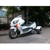 8HP Tri Wheel Motorcycle , Electric Start 150cc Scooter With Windshield Manufactures