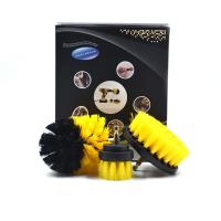 Portable Drill Cleaning Brush Power Scrubber Drill Attachment Brush Set Manufactures