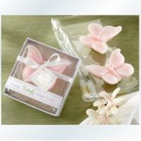 China butterfly candle wedding favors,candle party favors on sale