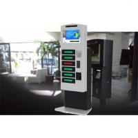 Remote Control Posters Public Cell Phone Charging Kiosk With Advertising Function Manufactures
