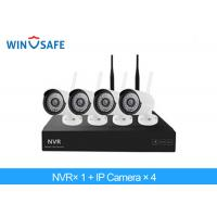 2.0 Megapixel Bullet Wireless IP Camera System , 4 Camera Wireless Security System Manufactures