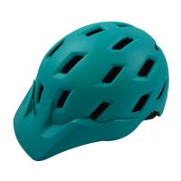 Cyan Mountain Bike Helmet Outdoor Rock Sport 25 Vents For Safe Riding Manufactures