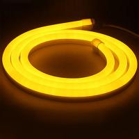 Outdoor 120degree yellow 16x24mm flexible LED Neon strip lights/ LED strip Light Manufactures