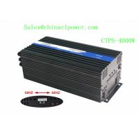 4000w 12VDC to 100VAC 50HZ/60HZ with dip Switch Pure sine wave inverter (CTPS-4000W) Manufactures
