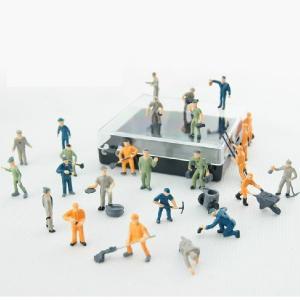 1:87 color railroad scale figures,model worker figure,1/87 figures,HO Scale miniature Figures Manufactures