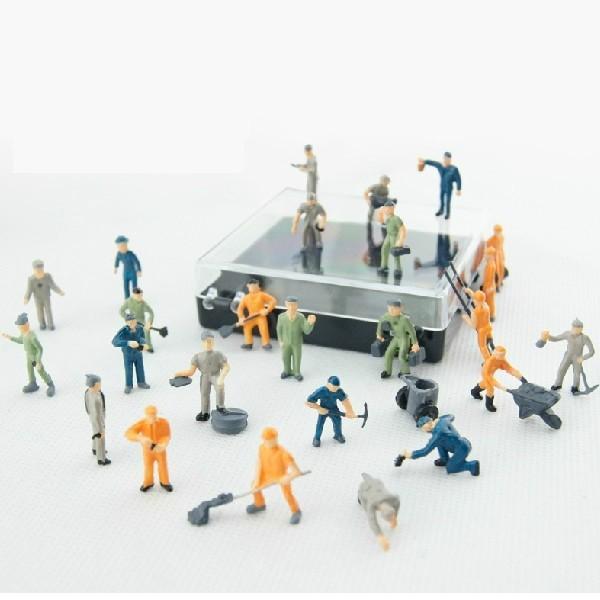 187 Color Railroad Scale Figuremodel Worker Figures1 87 Figuresho Scale Miniature Figures