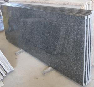 China Blue pearl granite countertop,96-108x26x3/4 prefabricated countertop on sale
