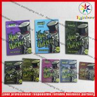 China Aluminum Foil Herbal Incense Zip Plastic Bags Recycled With Zipper on sale