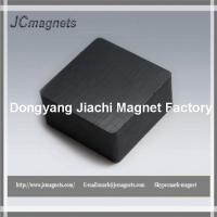 China Ceramic Magnets Grade 8 2 x 2 x 1 Block, Package of 2 Hard Ferrite Magnets on sale