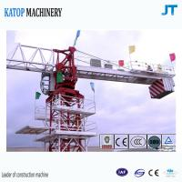 Topless tower crane 6t load TC5610 falt top tower crane for sale Manufactures