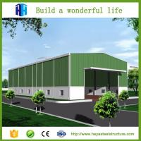 China High strength prefabricated small steel structure buildings warehouse on sale