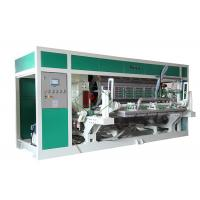 Rotary Type Paper Egg Tray Machine For Egg Tray / Egg Carton / Egg Box Hot Air Forming Production Line Manufactures