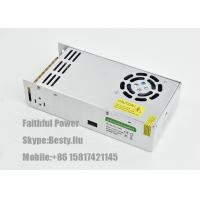 China 24V DC 12V DC 400W Swicthing Mode Power Supply 16.6A 33A IP20 with Shock Rubber Cover on sale
