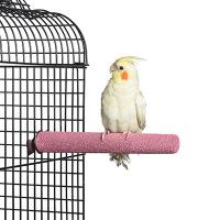Quality small pumice pedicure perch for birds,finch and canary,colors vary for sale