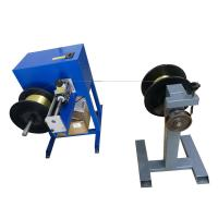 1 - 5mm Wire Range Cable Rewinding Machine With Meter Counter 375w Power Manufactures