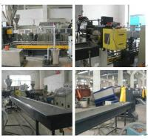 China ABB Frequency Inverter Plastic Granulator Machine / Bottle Recycling Machine on sale