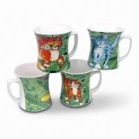 Coffee Mug/Cup for Promotional Purposes, Made of Stoneware Material Manufactures