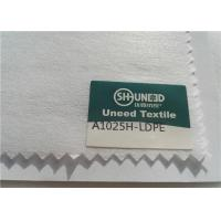 100% Polyester Chemical Bonded Interlining Non Woven Fabric With Scatter Coating Manufactures