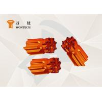 T38/R38 DTH Button Bits Mining Drill Head High Impact Rate Low Air Consumption Manufactures