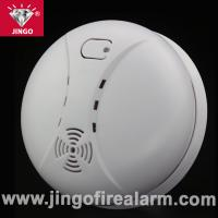 Buy cheap Portable fire alarm systems smoke detector 9V battery with buzzer from wholesalers