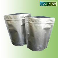 standing aluminum foil zipper pouch for food packing Manufactures