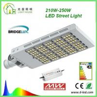 Rotatable 200W LED street light 50000 Hrs Life Span AC 85 – 277 V CE RoHS Certificate Manufactures