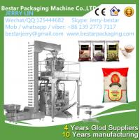 2016 New design BSTV-420/520/720AZ Automatic rice/peanuts packet packing machine Manufactures