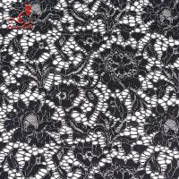 African French Nylon Lace Fabric For Garment Light Color Fastness Manufactures