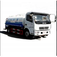 China 150hp Horsepower 8m3 Water Tank Truck Left / Right Hand Drive Euro2 / 3 / 4 on sale