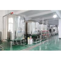 10 TPH Drinking Water Filter RO Water Treatment Systems 220V Easy Operation Manufactures