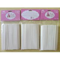 Buy cheap paper stick / paper lollipop sticks /cake pop sticks from wholesalers