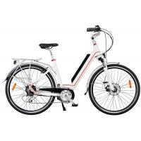 China Ladies High End Electric Bike , Rear Wheel Motor And Pedal Assisted System on sale