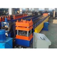 Galvanized   Highway Guardrail Roll Forming Machine W - Beams 13 Raws Manufactures