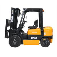 2.5 Ton Diesel Forklift Truck High Efficiency With Penumatic Forklift Tire Manufactures