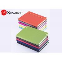 China Office supplies lay out pu leather a5 size elastic closure custom notebook for promotional office and school use on sale