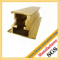 China two components jointed brass extrusions suppliers for window and door extrusions profile on sale