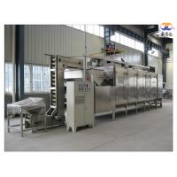 304 Stainless Steel Nut Roasting Equipment , Cashew Nut Roasting Processing Line Manufactures