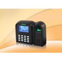 Buy cheap Multi-language Biometric Time Attendance System With Scheduled Bell , Auto Status , Workcode from wholesalers