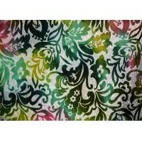 100% Polyester Colorful Crushed Velour Fabric Green Velvet Fabric Manufactures