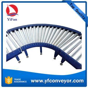 China Steel Motorized Roller Conveyor,Powered Roller Conveyor,Curve Roller Conveyor on sale