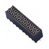Buy cheap 2 * 9P PCB Female Header PA9T UL94V-0 2.54 Pitch Female Pin Header Connector from wholesalers